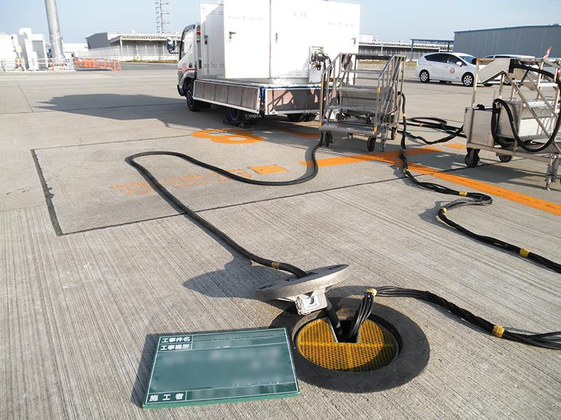 空港及び航空機設備工事