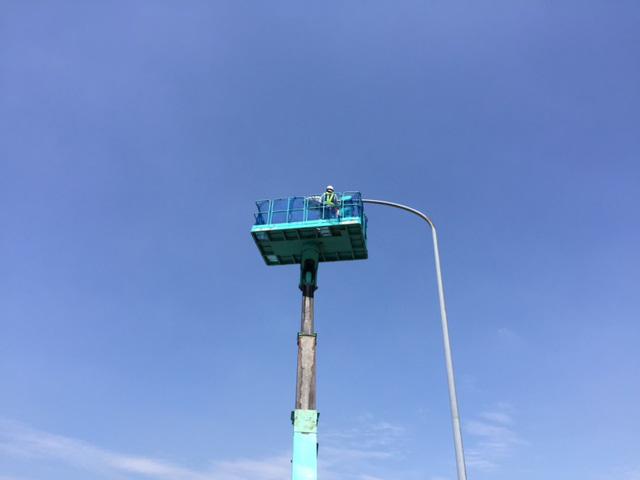 配電線工事